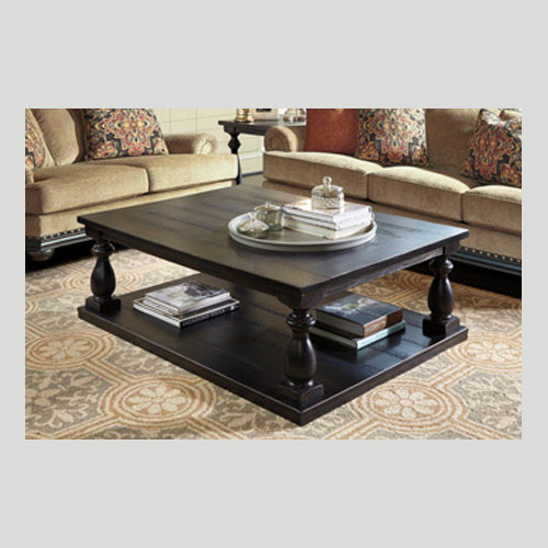 Ashley Mallacar Piece Coffee Table Set In Black T: 2 PIECE OCCASIONAL SET