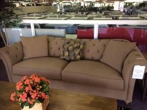 Brown color sofa - $799