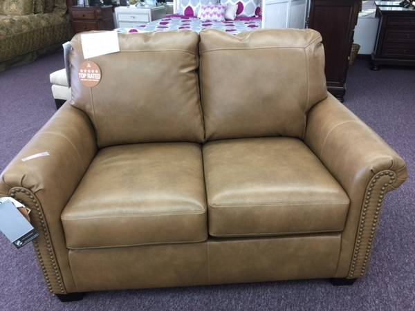 Leather Twin Sofa Sleeper 499