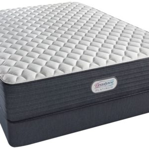 BEAUTYREST PLATINUM Grantbury Port Extra Firm Mattress & Flat Foundation