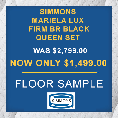 SIMMONS MARIELA LUX FIRM BR BLACK