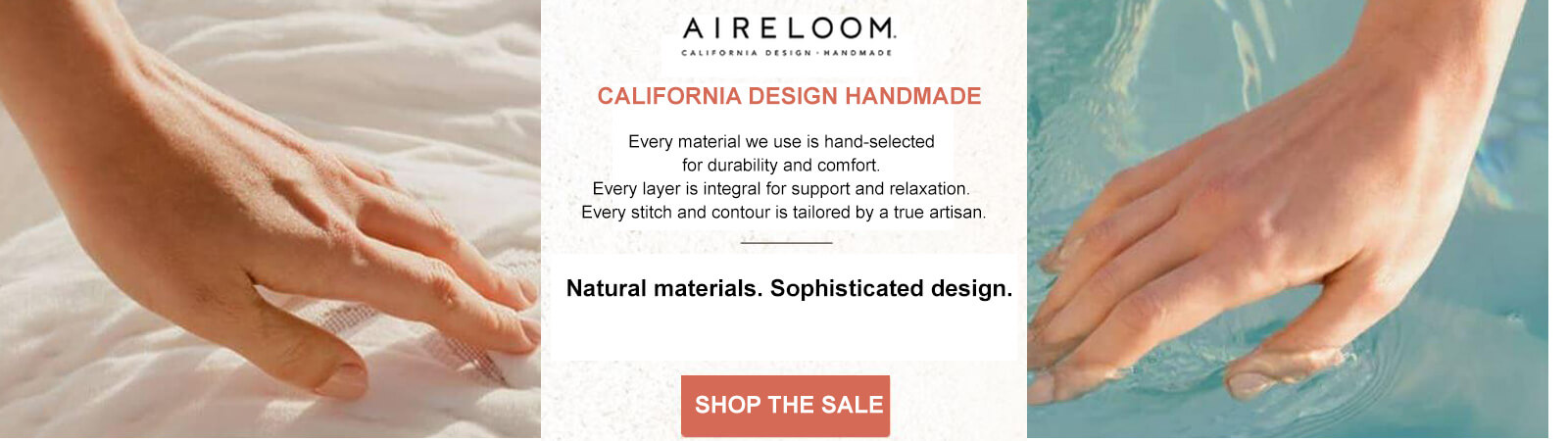 AIRELOOM CALIFORNIA DESIGN HANDMADE